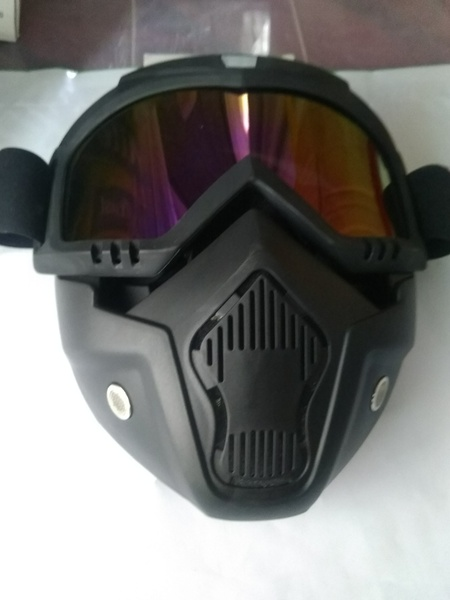 Used motorcycle full face mask.colored lens in Dubai, UAE