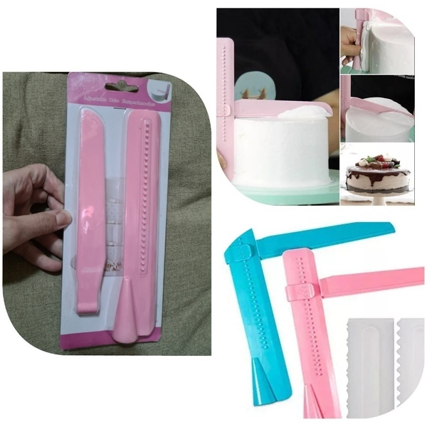 Used 4 pcs cake scrapping proffessional diy in Dubai, UAE