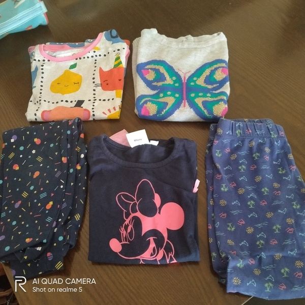 Used Bundle of clothes for 3-4 yrs girl 💓 in Dubai, UAE