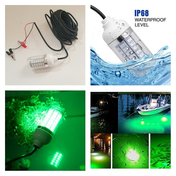 Used LED Fish Light Green Colour in Dubai, UAE