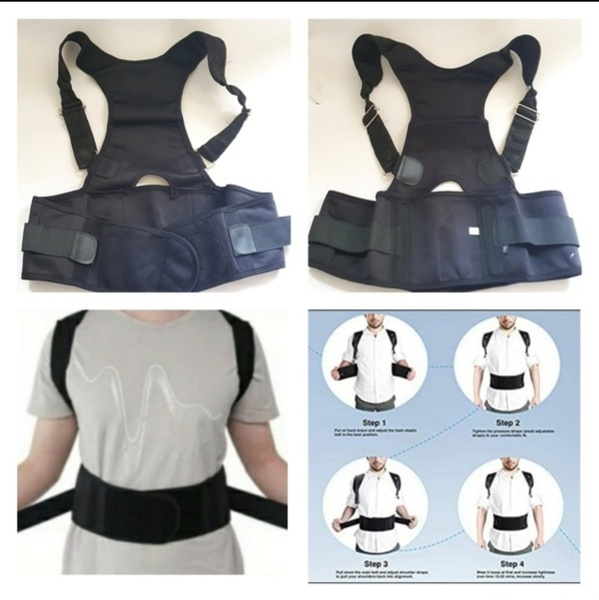 Used Posture Corrective Therapy Brace New 2pc in Dubai, UAE