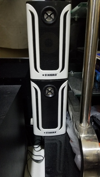 Used Star gold bluetooth speaker in Dubai, UAE