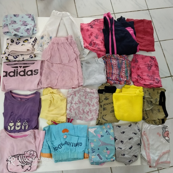 Used Clothes and shoes bundle for 5 yrs old. in Dubai, UAE