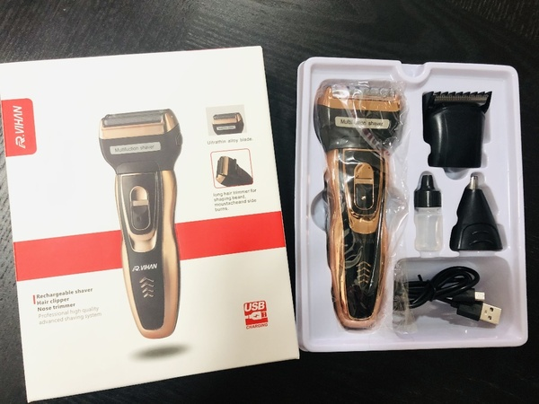 Used R VIHAN Rechargeable Trimmer 3 in 1 in Dubai, UAE