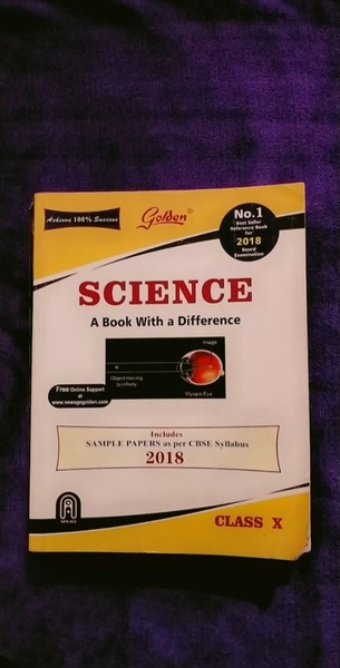 Used GRADE 10-SCIENCE (GOLDEN GUIDE) CBSE in Dubai, UAE