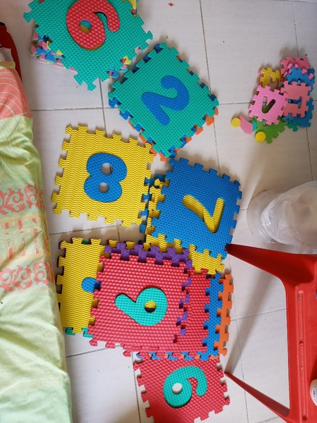 Used Bundle offer, kids play mat+ in Dubai, UAE