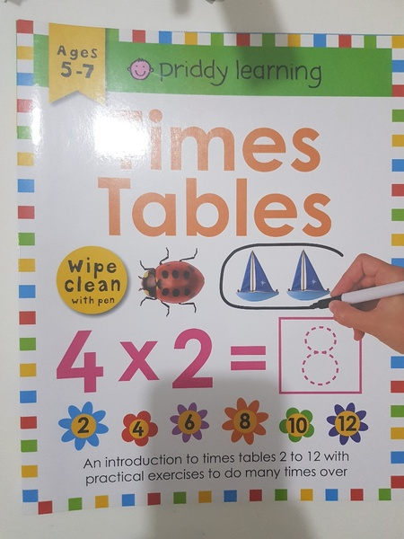 Used New Times Table activity book in Dubai, UAE