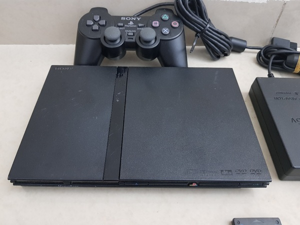 Used PS2 slim with one controller in Dubai, UAE