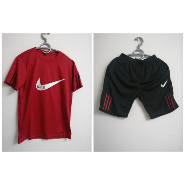 Used Nike sportswear tracksuit t-shirt short in Dubai, UAE