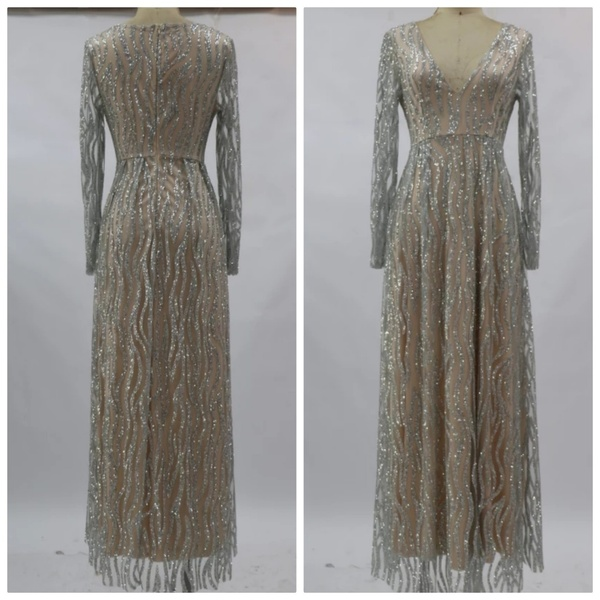Used Brand new tulle long party dress size S in Dubai, UAE