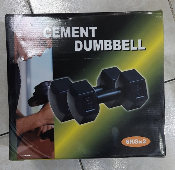 Used Pvc Dumbbells 6kg in Dubai, UAE