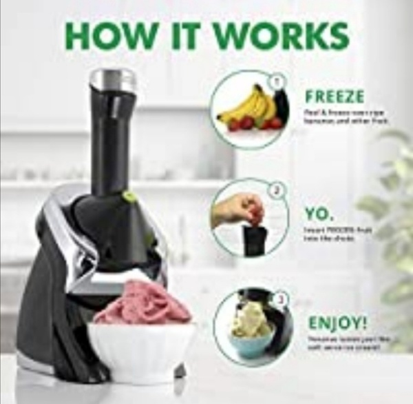 Used New Electric ice cream maker. in Dubai, UAE