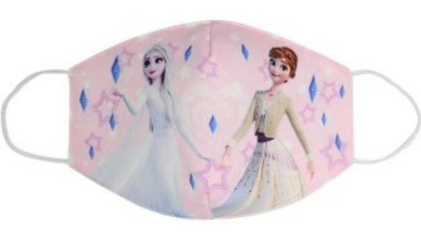 Used Face Mask for Kids Disney Frozen Pink in Dubai, UAE