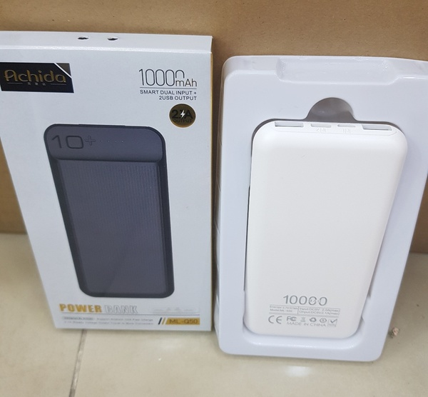 Used Achida Power Bank 10000mAh Output 2.1A in Dubai, UAE