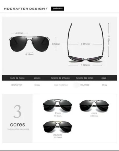 Used HD Crafter Sunglasses NEW in Dubai, UAE