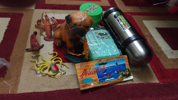 Used Hot water bottle to lunch box kids toys in Dubai, UAE