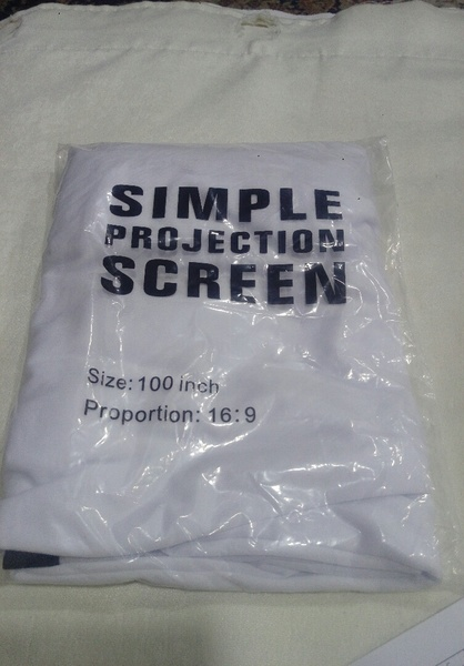 Used Simple projection screen brand new46532 in Dubai, UAE