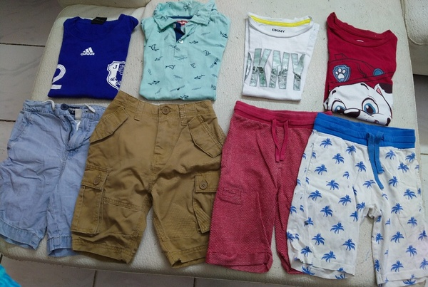 Used Bundle set of 6-8 year old boy 🚶 in Dubai, UAE