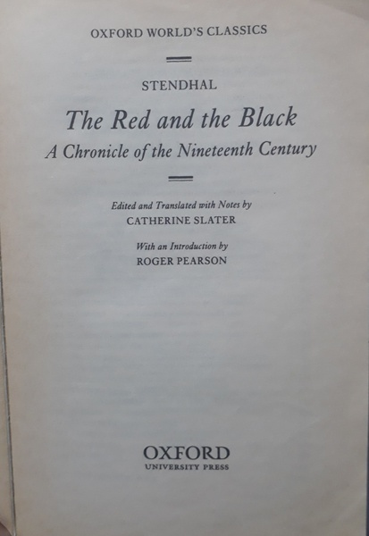 Used Stendal THE RED AND THE BLACK in Dubai, UAE