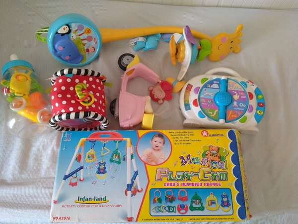 Used Bundle of beautiful toys for little one in Dubai, UAE