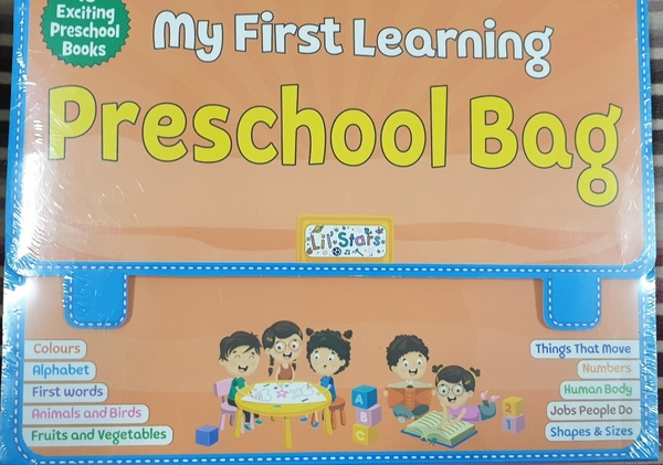 Used Early Learning Bags - 30 Small Books in Dubai, UAE