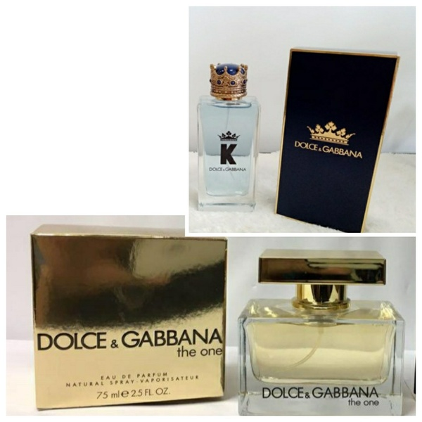 Used Dolce&Gabbana for him&For her 2pcs in Dubai, UAE