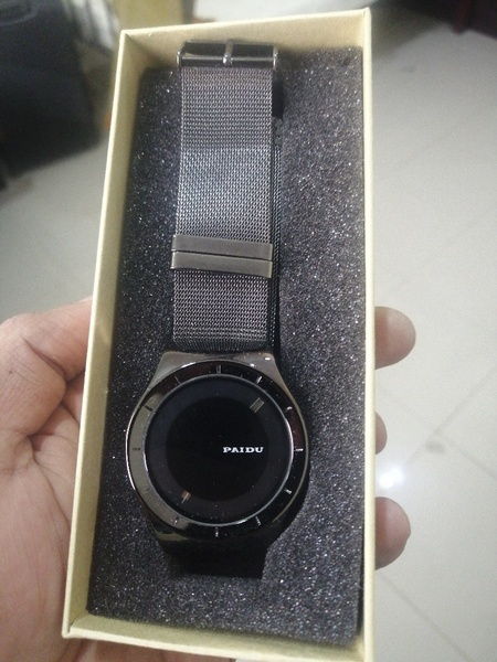 Used PAIDU original metal strap watch men in Dubai, UAE