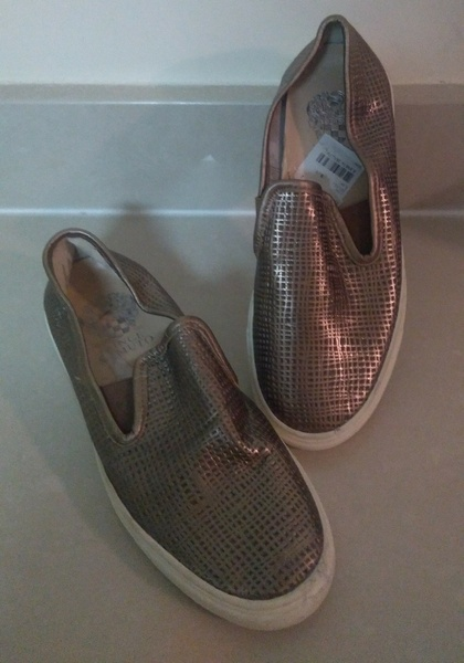 Used Vince Camuto leather shoes in Dubai, UAE