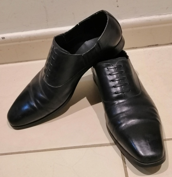 Used Duchini men shoe size 42 in Dubai, UAE