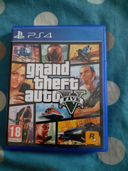 Used Gta 5 for ps4 and 5 in Dubai, UAE