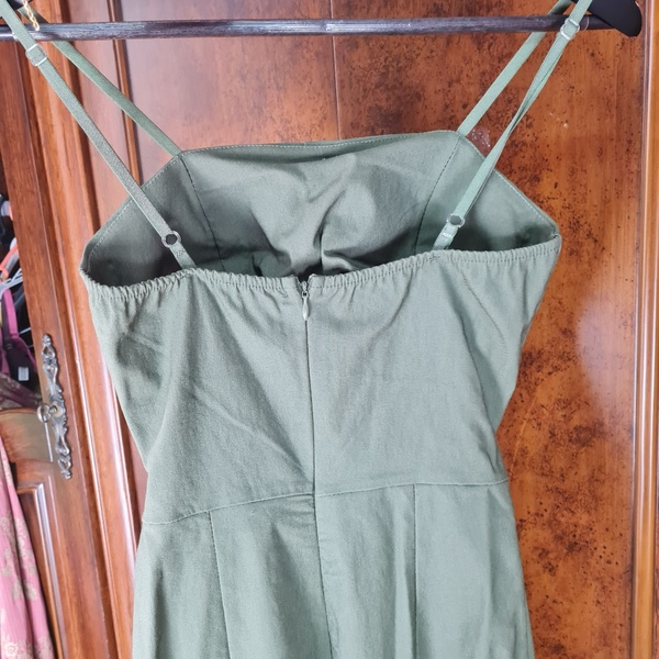 Used Green color jumpsuit size S/M in Dubai, UAE