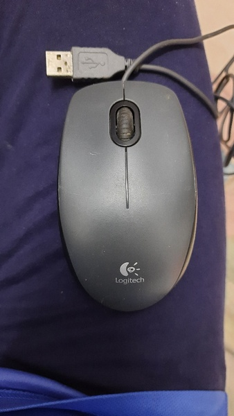 Used Logitech M90 wired mouse:Used in Dubai, UAE