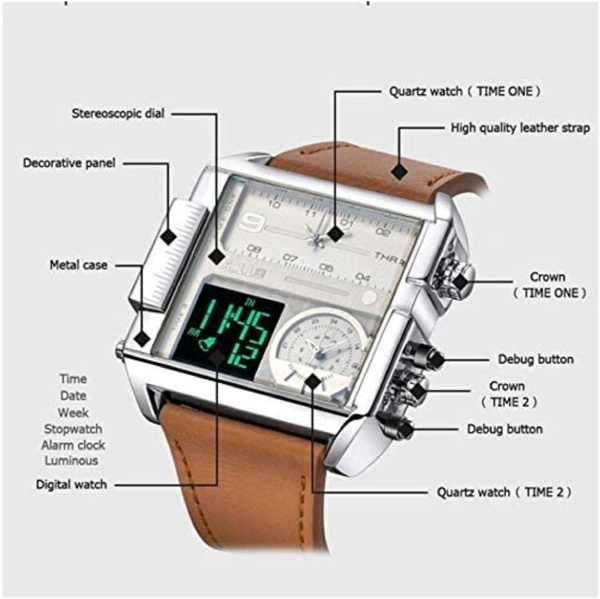 Used Anders Mens Watch with 3 Times in Dubai, UAE