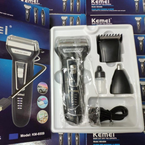 Used KEMEI 3-1 TRIMMER BEST DEAL NEW🌑 in Dubai, UAE