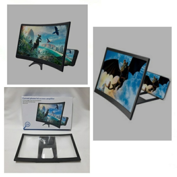 Used 12 Inch Curved Screen Magnifier (New) in Dubai, UAE