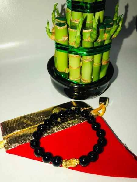 Used Wealth bracelet with 24k real gold PYAO in Dubai, UAE