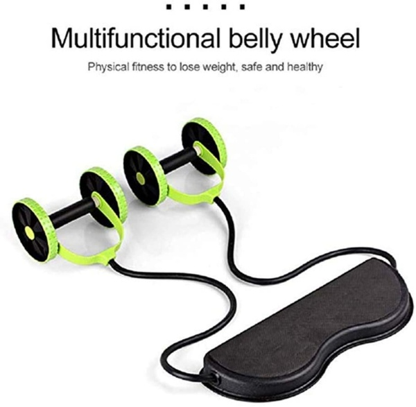 Used Multi functional fitness roller wheel in Dubai, UAE