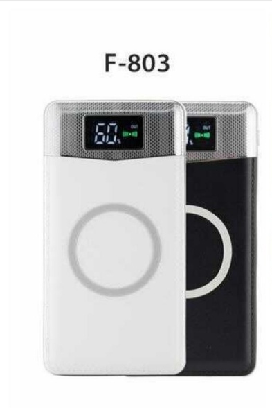 Used Wireless charger power bank 2in1 led in Dubai, UAE