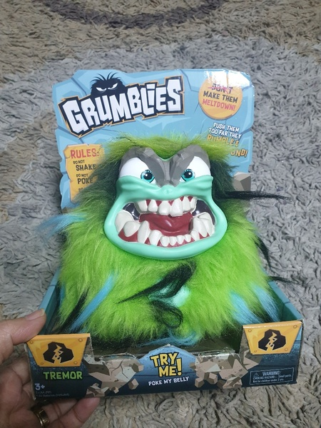 Used Grumblies Tremor toy funny collectible in Dubai, UAE