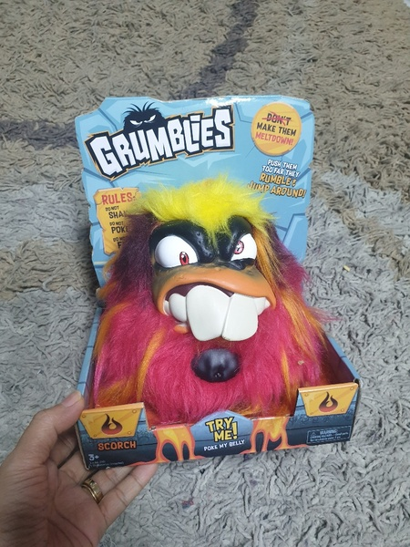 Used Grumblies Scorch toy funny collectible in Dubai, UAE