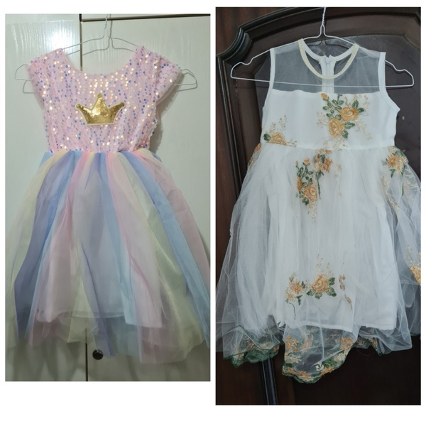 Used BUY 1 GET 1 FREE girls party dress 120 in Dubai, UAE