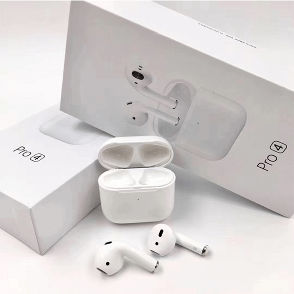 Used PRO4 AIRPODS BUY FROM JAMILA 🔥 in Dubai, UAE