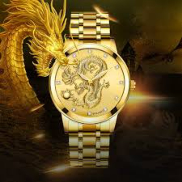 Used Men's casual Dragon watch New in Dubai, UAE