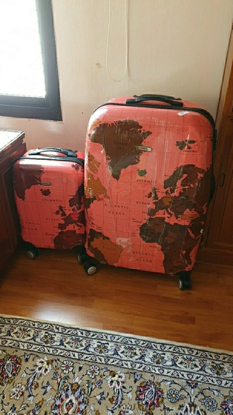 Used Set of Travel bags 2pcs in Dubai, UAE