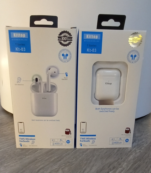 Used KT-03 Airpods TWS Wireless Earbuds A1 Qu in Dubai, UAE
