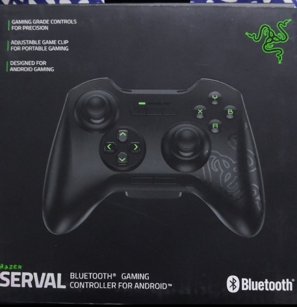 Used Razer serval bluetooth controller for 50 in Dubai, UAE