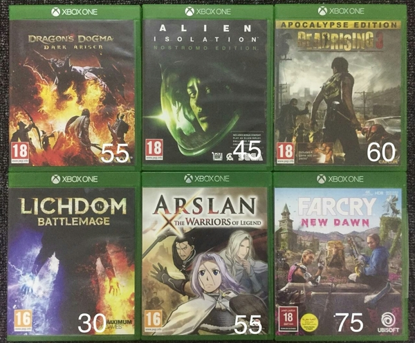 Used Xbox one games in Dubai, UAE
