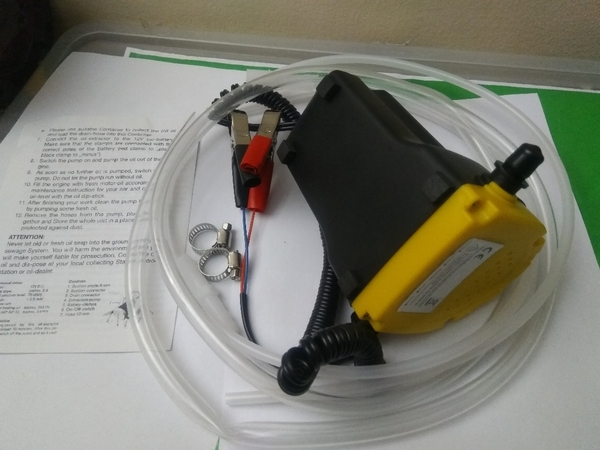 Used quick extract Oil change pump 12V in Dubai, UAE