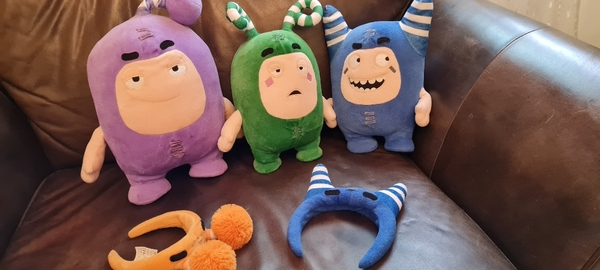 Used Oddbods(Red fuse)interactive 2FREE BANDS in Dubai, UAE
