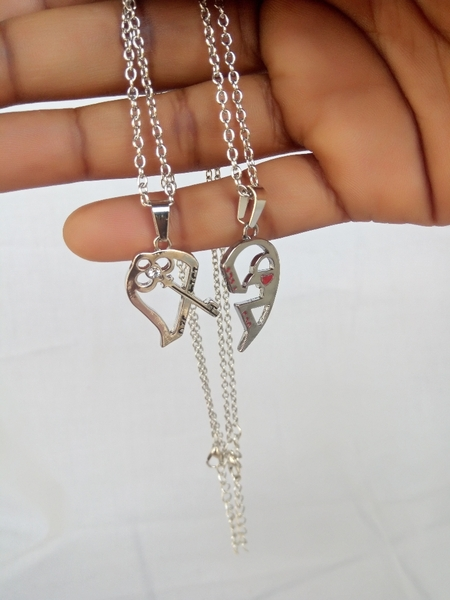 Used Key love necklace in Dubai, UAE